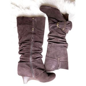 Naughty Monkey Woman's 8.5 Brown Suede Boots
